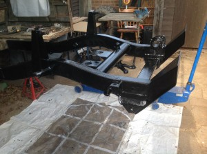 Eastwood chassis black applied